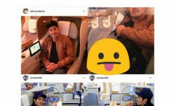 Look: Ahron Villena Alleged Airplane Private Photo Leaked Online