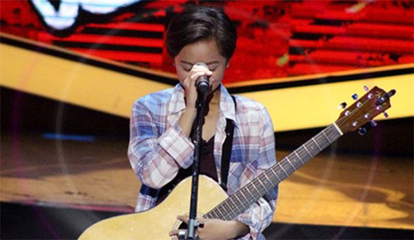Andrea Badinas sings 'Feeling Good' on The Voice Teens Philippines Blind Auditions