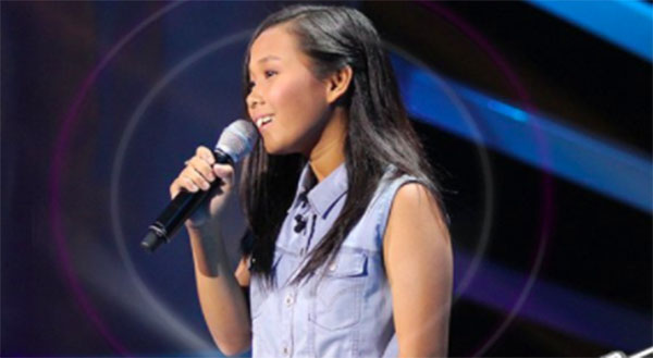 Angelica Salvana sings 'Dance With My Father' on The Voice Teens Philippines Blind Auditions