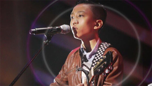 Angelo Go sings 'Tatsulok' on The Voice Teens Philippines Blind Auditions