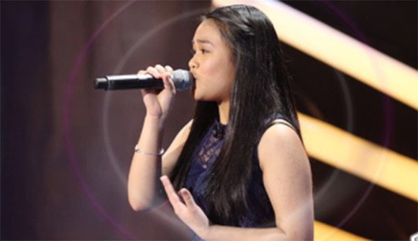 Arisxandra Libantino sngs 'Million Reasons' on The Voice Teens Philippines Blind Auditions