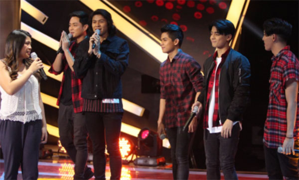 BoybandPH sings 'She's Always A Woman' on The Voice Teens Philippines