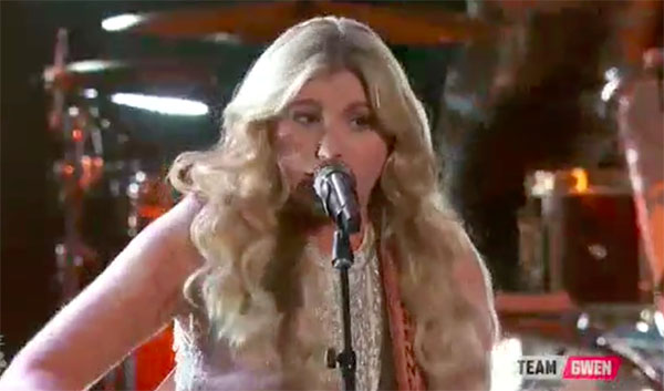 Brennley Brown sings 'Suds In The Bucket' on The Voice 2017 Top 8 Semifinals