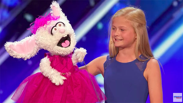 Darci Lynne Gets Golden Buzzer on America's Got Talent 2017 Premiere