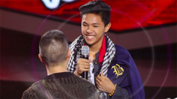 "Duen Caoile sings ""I'm Not The Only One"" on The Voice Teens Philippines Blind Auditions"