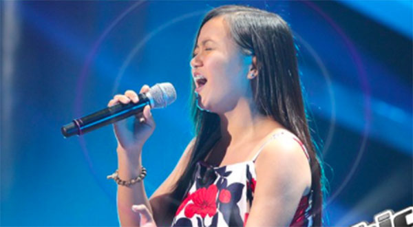 Fatima Espiritu sings 'My Heart Will Go On' on The Voice Teens Philippines Blind Auditions
