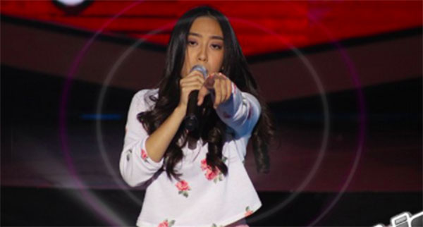 Fatima Laguerras sings 'Run Away Baby' on The Voice Teens Philippines Blind Auditions