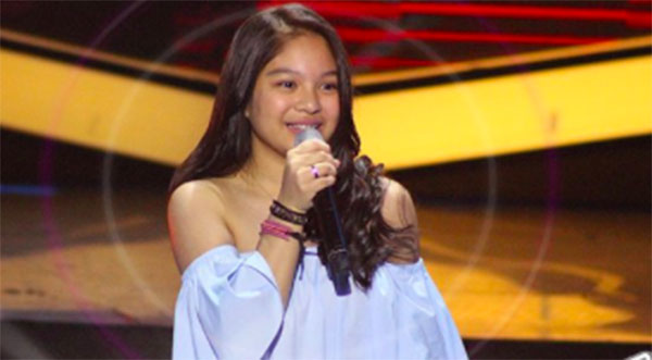 Gia Gonzales sings 'Roses' on The Voice Teens Philippines Blind Auditions