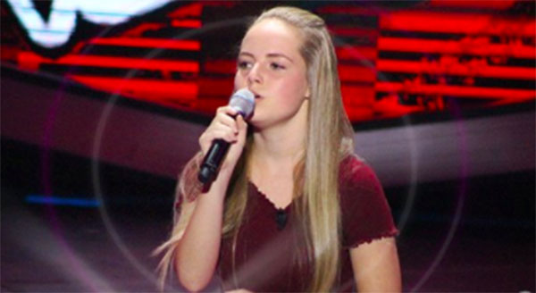 Heather Hawkins sings 'Make You Feel My Love' on The Voice Teens Philippines Blind Auditions