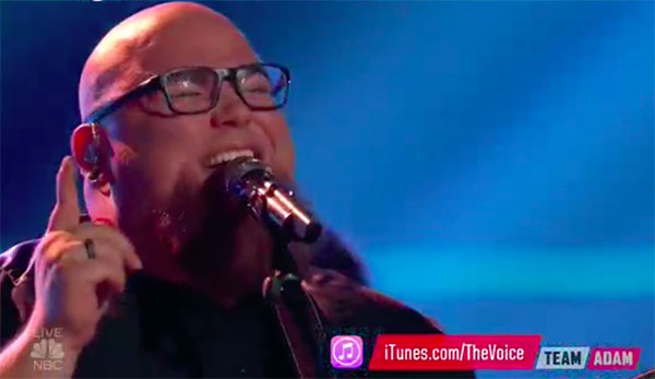 Jesse Larson sings Original Single 'Woman' on The Voice 2017 Finale