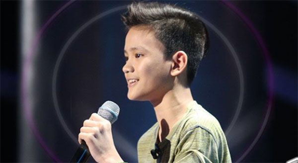 Johann Ramirez sings 'Fly Me to the Moon' on The Voice Teens Philippines Blind Auditions