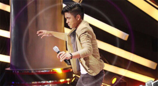 Julian Juangco sings 'For Once In My Life' on The Voice Teens Philippines Blind Auditions
