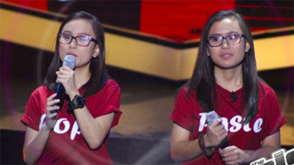Kathlene, Arlene Badong sings 'Ikaw Ay Ako' on The Voice Teens Philippines Blind Auditions