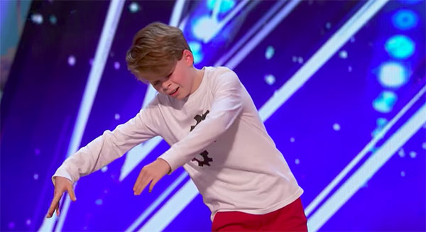 Merrick Hanna Wows Judges on America's Got Talent 2017 Premiere
