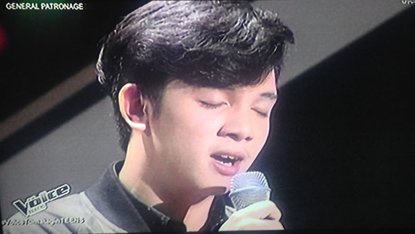 Miko Ruiz sings 'Pusong Ligaw' on The Voice Teens Philippines Blind Auditions