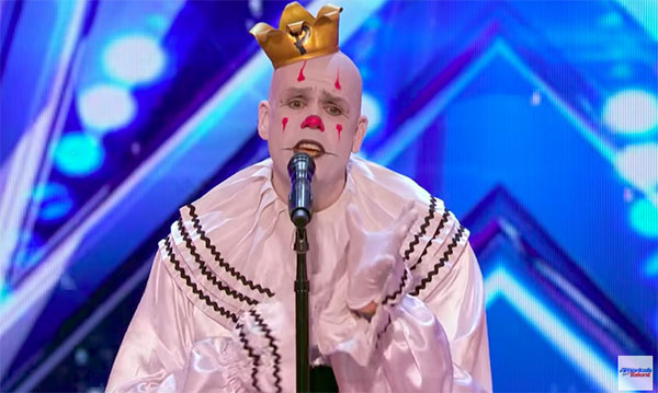 Puddles Pity Party sings 'Chandelier' on America's Got Talent 2017 Premiere