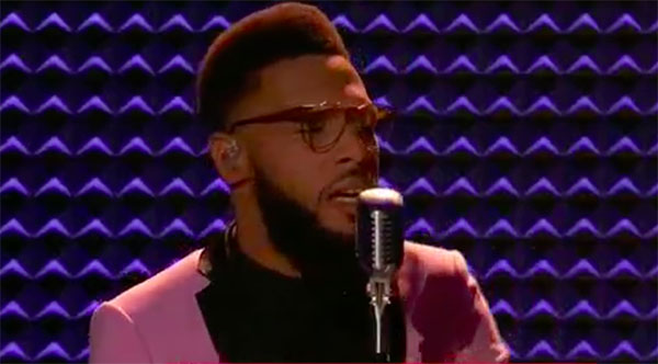 T Soul sings 'Ain't No Way' on The Voice 2017 Top 8 Semifinals