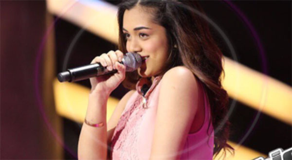 Tanya Dawood sings 'Fallin' on The Voice Teens Philippines Blind Auditions