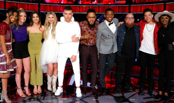 The Voice Results Tonight, Top 10 Live Elimination, Top 8 Revealed May 9 2017 Episode