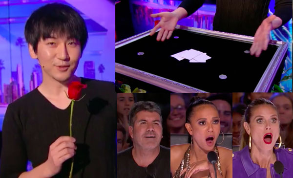 Will Tsai Shocks Judges with his Visual Magic on America's Got Talent 2017