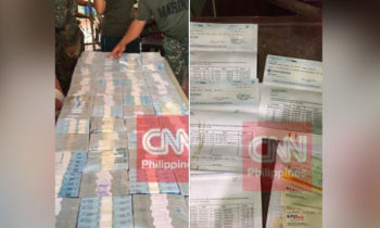 LOOK: ₱52M cash, ₱27M cheques Recovered from Maute Group in Marawi