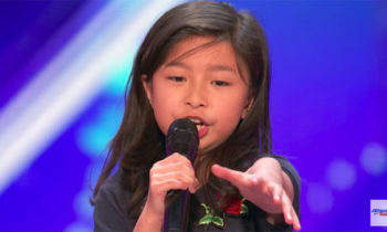 9-year-old singer Celine Tam wows with 'My Heart Will Go On' on America's Got Talent 2017