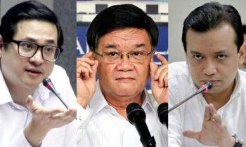Aguirre Links Senator Trillanes and Bam Aquino in Marawi Attack