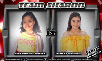 """Watch: Alessandra vs Ashley """"Don't You Worry 'Bout a Thing"""" The Voice Teens Philippines Battles"""