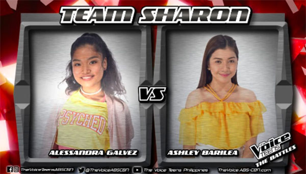 "Alessandra vs Ashley ""Don't You Worry 'Bout a Thing"" The Voice Teens Philippines Battles"