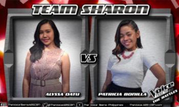 Watch: Alyssa vs Patricia 'Sana'y Wala Ng Wakas' The Voice Teens Philippines Battles