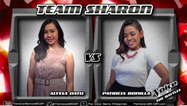 Alyssa vs Patricia 'Sana'y Wala Nag Wakas' The Voice Teens Philippines Battles