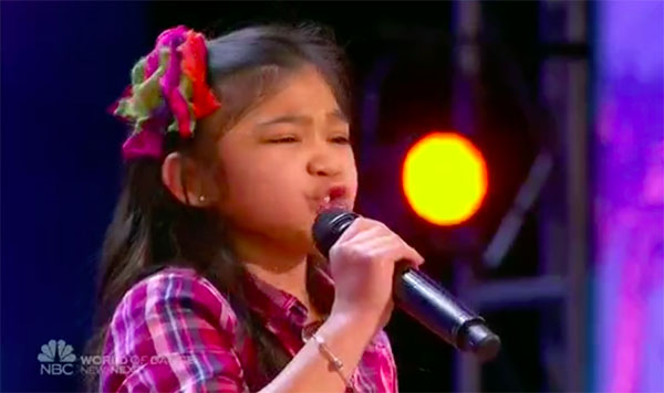 Angelica Hale sings 'Rise Up' on America's Got Talent 2017