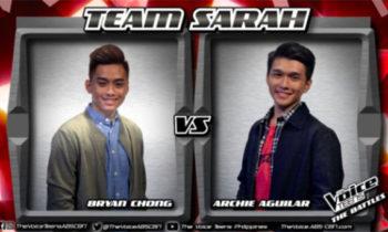Watch: Archie vs Bryan 'Heaven Knows' The Voice Teens Philippines Battles