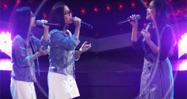 Arisxandra vs Kathlene & Arlene 'You' The Voice Teens Philippines Battles