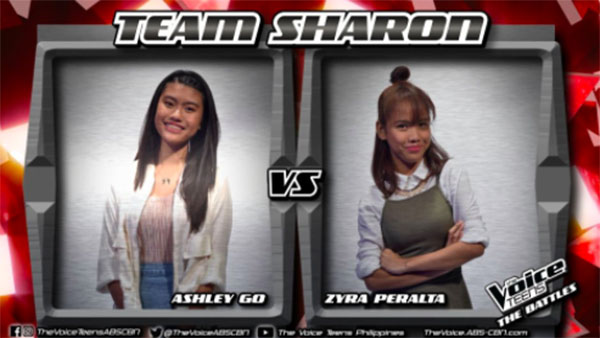 Ashley vs Zyra 'Very Special Love' The Voice Teens Philippines Battles