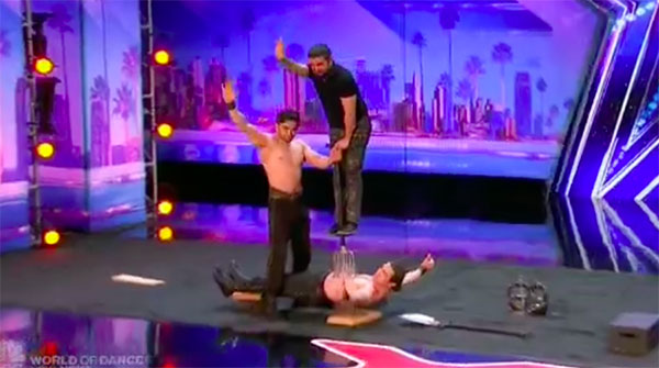 Azeri Brothers wows with dangerous act on America's Got Talent 2017