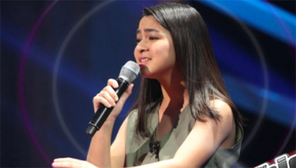 Bea Munoz sings 'Moon River' on The Voice Teens Philippines Blind Auditions