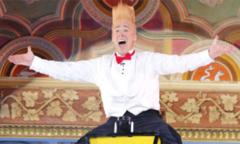 Bello Nock shocks with dangerous act on America's Got Talent 2017