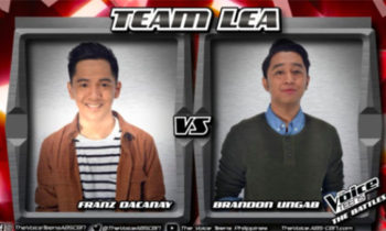 Watch: Brandon vs Franz 'Hiling' The Voice Teens Philippines Battles