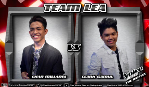 Chan vs Clark 'In the End' The Voice Teens Philippines Battles