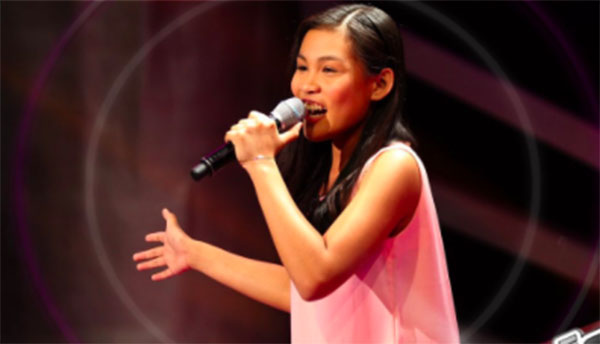 Christy Lagapa sings 'Sino ang Baliw' on The Voice Teens Philippines Blind Auditions