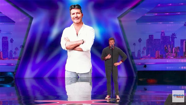 Daniel Ferguson wows with voice impressions to 'Cake By The Ocean' on America's Got Talent 2017