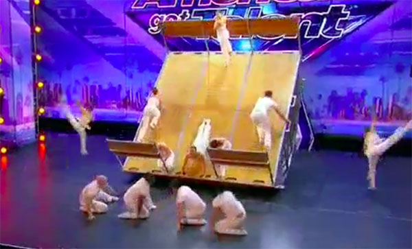 Diavolo Wows with Incredible Stunts on America's Got Talent 2017
