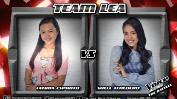 Fatima vs Shell 'Sana Bukas pa ang Kahapon' The Voice Teens Philippines Battles
