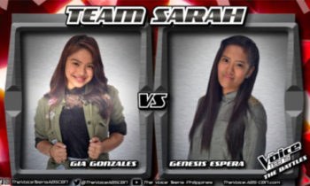 Watch: Gia vs Genesis 'Weak' The Voice Teens Philippines Battles