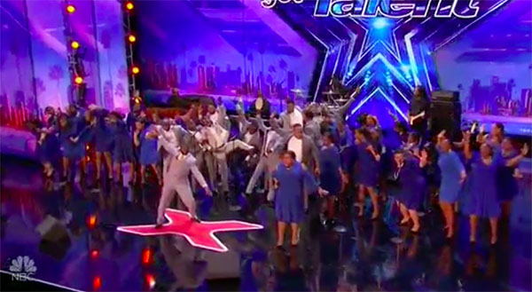 Gospel Choir DaNell Daymon sings 'Shine' on America's Got Talent 2017