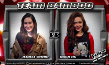 Watch: Isabela vs Reign 'Here' The Voice Teens Philippines Battles