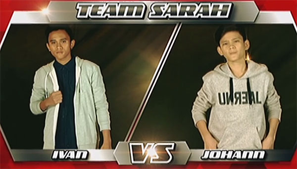 Ivan vs Johann 'One Call Away' The Voice Teens Philippines Battles
