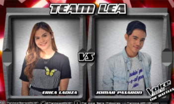 Watch: Jomar vs Erica 'Makita Kang Muli' The Voice Teens Philippines Battles
