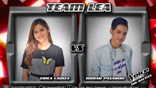 Jomar vs Erica 'Makita Kang Muli' The Voice Teens Philippines Battles